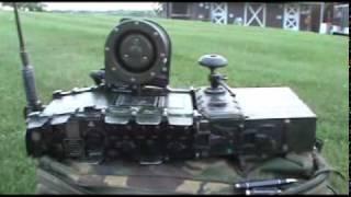 Clansman PRC-320 In the Yard