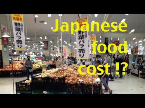 Food cost in Japan