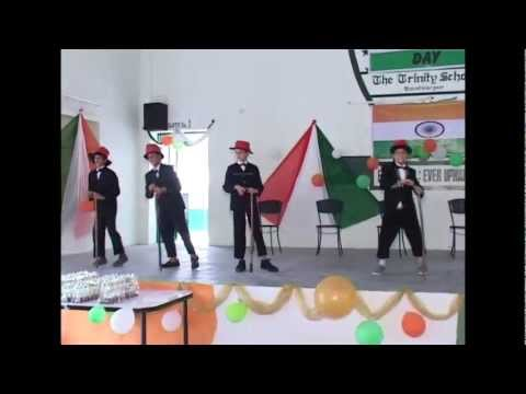 Mera Joota Jai Japani - Independence Day Celebration at The Trinity School, Asalpur