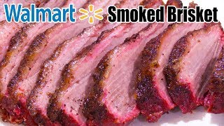 Walmart Beef Brisket Smoked on Memphis Wood Fire Grill (Pro 430) - The Wolfe Pit