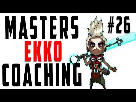 Masters Coaching #26 - Ekko Top (Gold 3)