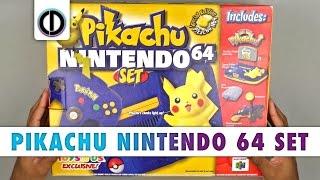 Pikachu Nintendo 64 Set (Unboxing)