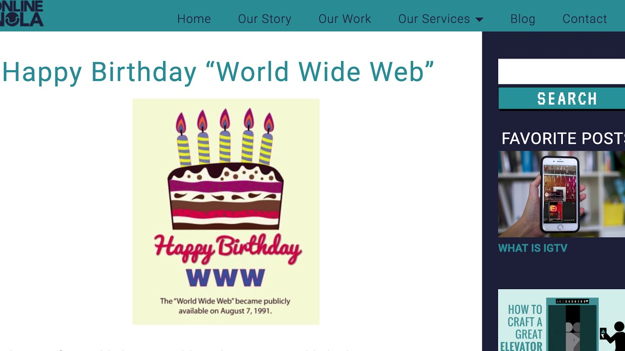 Happy Birthday WWW, EOS hackathon, some tips for proxy voters and our  future plans