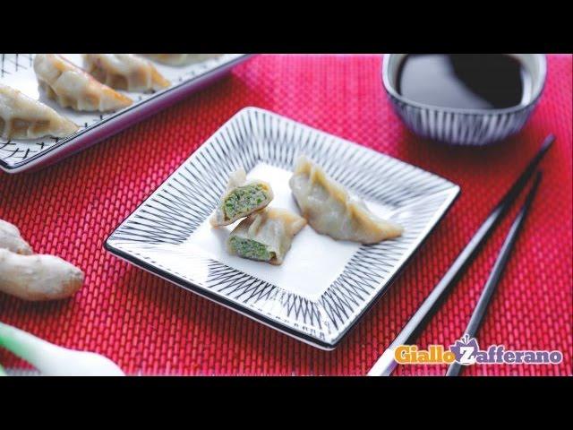 Ricetta Gyoza Giallo Zafferano.Ravioli Di Carne Giapponesi Gyoza Youtube