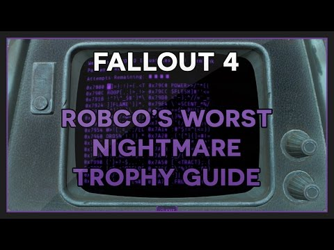 Fallout 4 | Hacking 50 Terminals - RobCo's Worst Nightmare Trophy/Achievement Guide