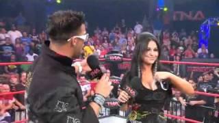TNA Impact 10/14/10 Jwoww, Angelina Love, Lacey Von Erich, Velvet Sky & Cookie Segment