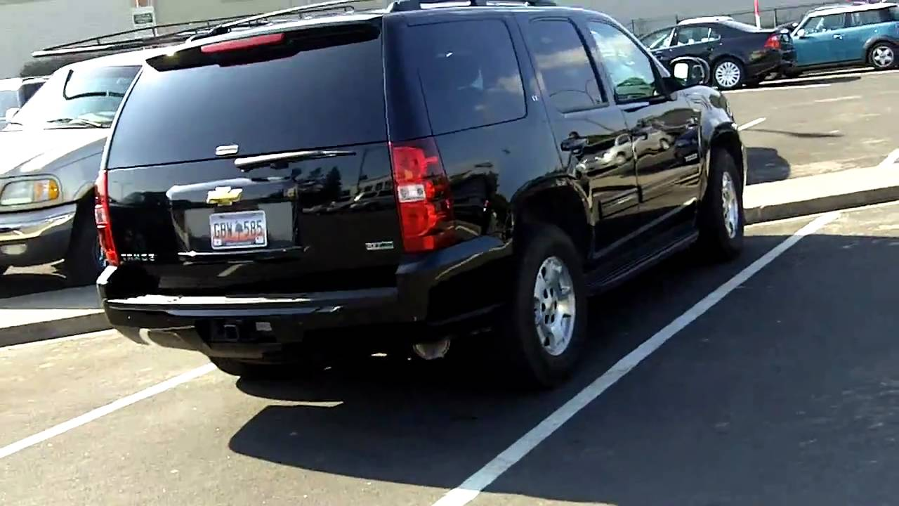 My One Day Stand With A Chevy Tahoe Lt Suv Truck