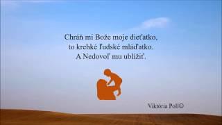 modlitba za dieťatko