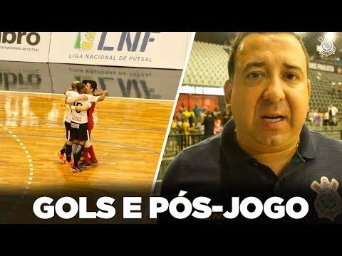 Gols e Pós-jogo - Corinthians 4x1 Jaraguá - LNF 2018