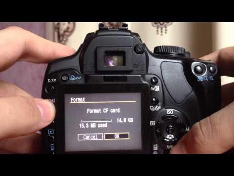 Canon EOS 400D Flash CF error