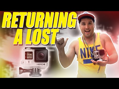 Thumbnail: Returning a Lost GoPro!
