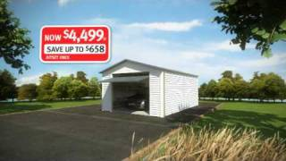 Versatile Garages New Zealand 15 Second  Tv Advert Feb 2010 Special - Yaya.co.nz