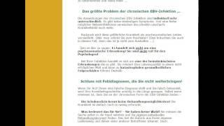 Empfehlungs Video das unterschätzte Epstein Barr Virus von Sigrid Nesterenko
