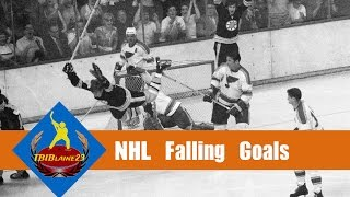 NHL Falling Goals