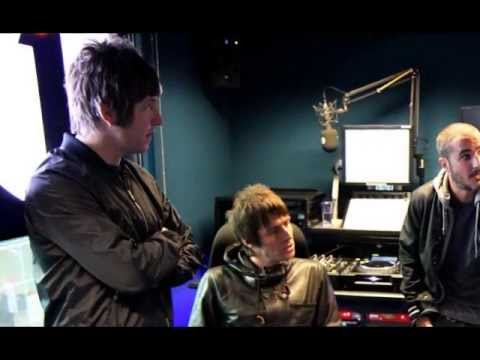 Beady Eye interview on Zane Lowe 29.04.2013 BBC Radio 1