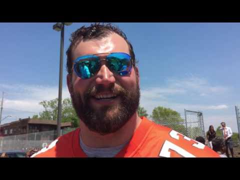 Browns left tackle Joe Thomas