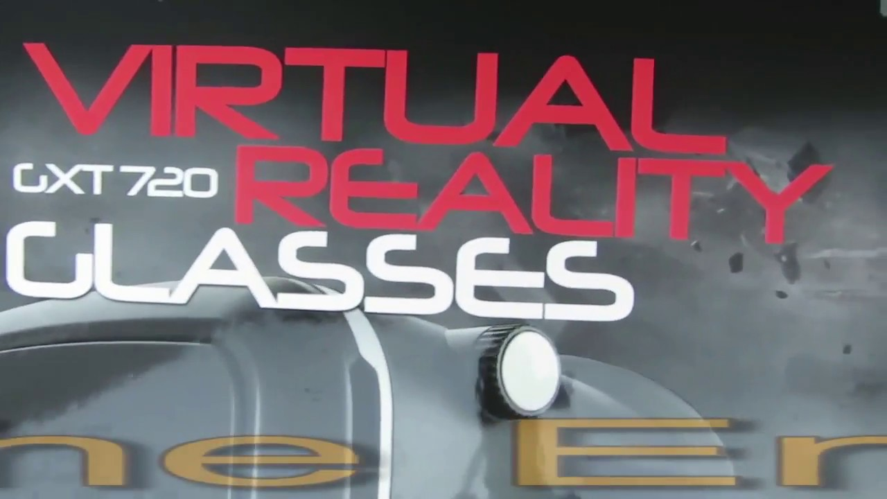 89b380761 Trust GXT 720 Virtual Reality Glasses ( Unboxing ) - YouTube
