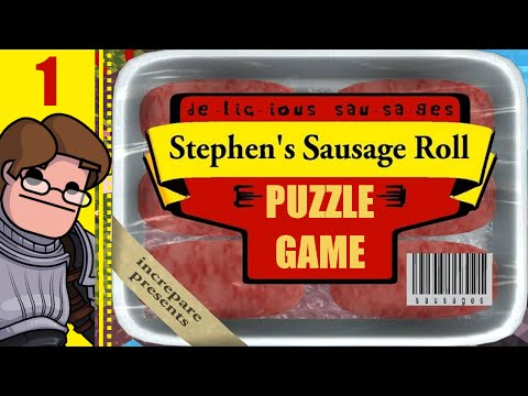 Let's Play Stephen's Sausage Roll Part 1 - Puzzle Game Recommended by Jonathan Blow!