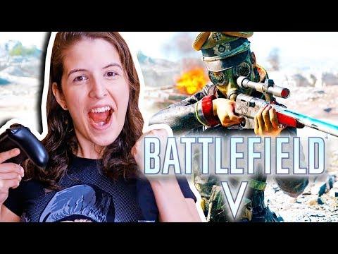 BATTLEFIELD V: A SNIPER CEGA VOLTOU 🎯 (XBOX ONE X) thumbnail