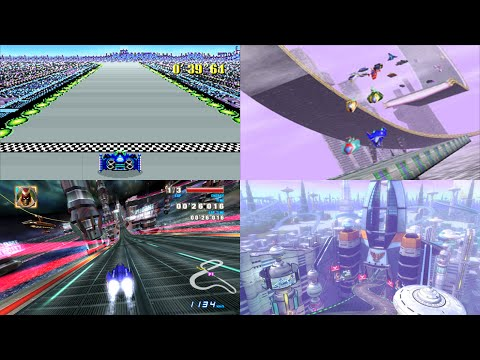 Evolution of F-Zero's Mute City
