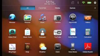 تغيير BlackBerry ID على BlackBerry PlayBook