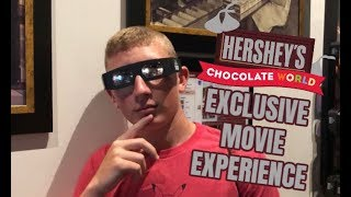 Chocolate World: EXCLUSIVE VIP 4D MOVIE EXPERIENCE VLOG!