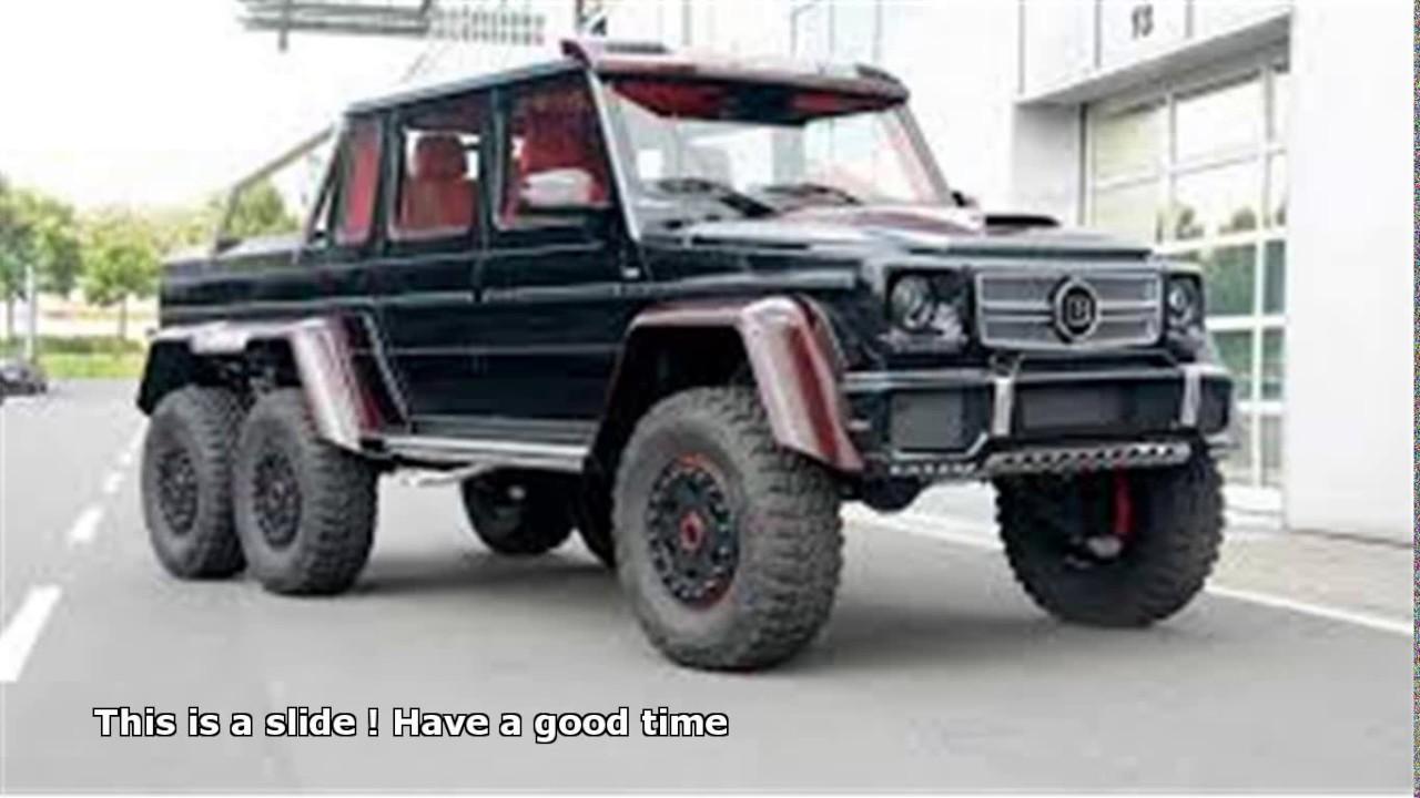 Mercedes benz 6 wheel