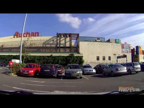 Driving in Timişoara: Freidorf - Iulius Mall. (Timelapse 2x)