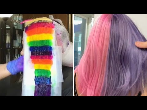 10 New Haircut and Color Transformation | New Amazing Hairstyles Compilation