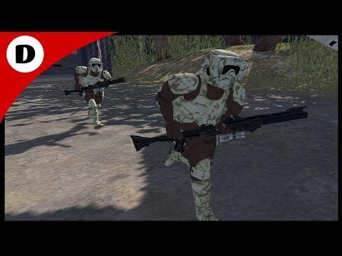 ORDER 66 ON KASHYYYK - Men of War: Star Wars Mod