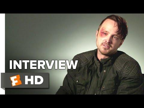 Triple 9 Interview - Aaron Paul (2016) - Thriller HD