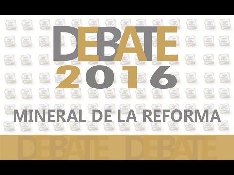 Debate Mineral de la Reforma