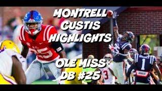 Montrell Custis Ultimate Highlights #25 || Ole Miss Football
