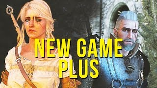 The Witcher 3 - New Game + (Plus) DLC Gameplay / Review