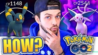 Pokemon GO (GEN 2) - HOW TO GET ESPEON + UMBREON 100%! (NEW EVOLUTIONS)