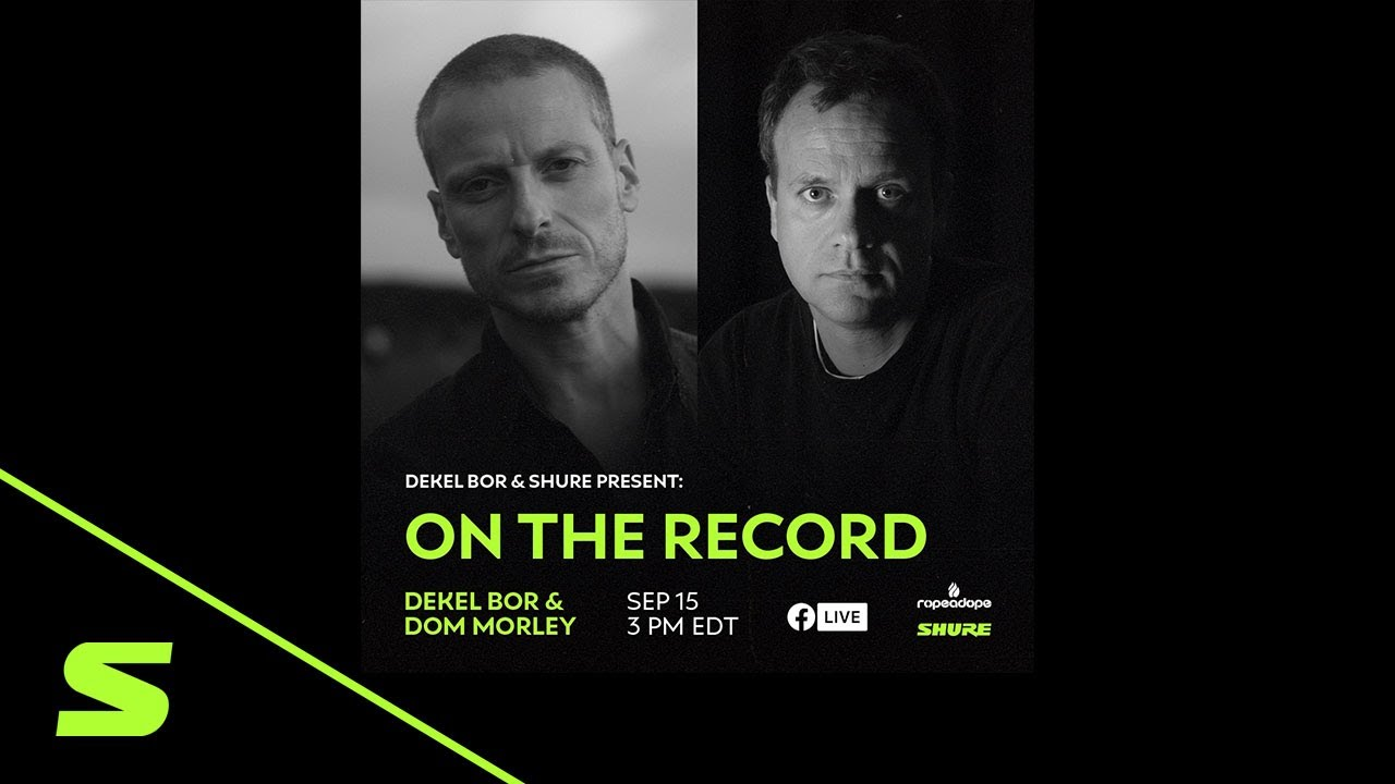 On The Record | Dekel Bor & Dom Morley