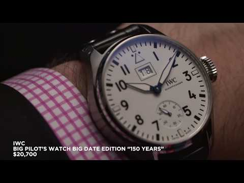 IWC –  6 new releases from 2018, inc. Portofino, Portugieser and Pilot's watches