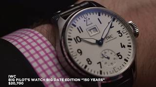 Iwc –  6 New Releases From 2018, Inc. Portofino, Portugieser And Pilot's Wat