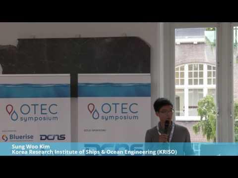 Sung Woo Kim - KRISO @ OTEC Symposium 2016