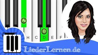 Silbermond - Das Beste - Klavier lernen - Musiknoten - Akkorde