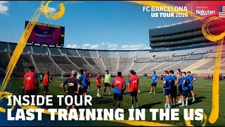 TRAINING IN THE BIGGEST US STADIUM!!! | Inside Tour USA 2019 #5
