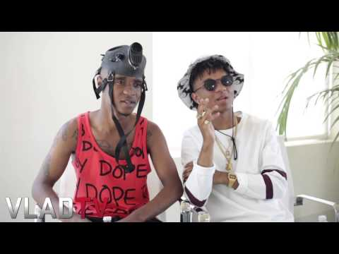 Rae Sremmurd on Name Meaning & Working With Mike Will
