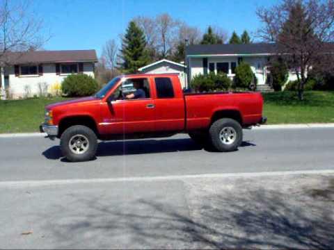 1998 Chevrolet Silverado Cherry Bomb Muffler