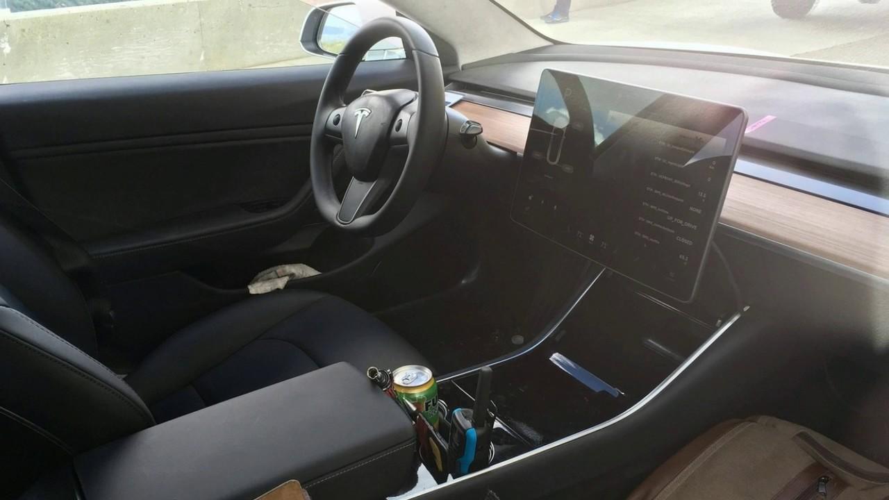 Tesla provides first glimpse of Model 3