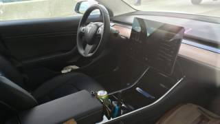 Tesla Model 3 New spy shots offer best interior glimpse yet
