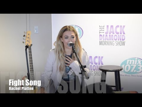 Rachel Platten performs Fight Song in the mix Lounge