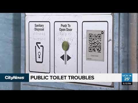 Flushing Public Toilets In Calgary