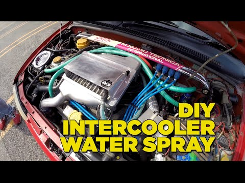 Budget Intercooler Water Spray