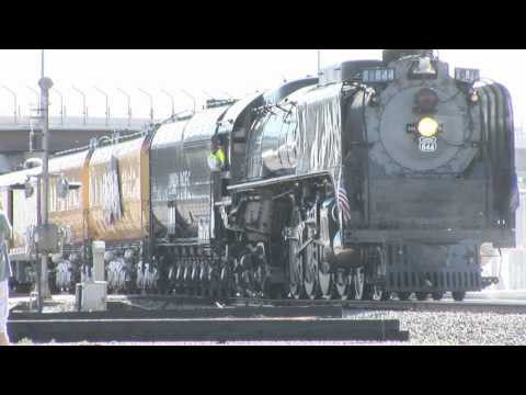 Steam Train Union Pacific 844 a Rare Steam Only Run!