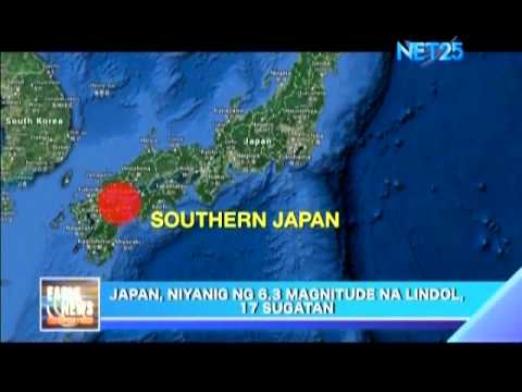 Earthquake in Southern Japan
